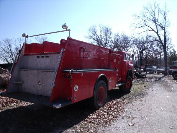 Fish Hauler? Water Transport? Grease Rig? Fire Truck Pumper!choise--->